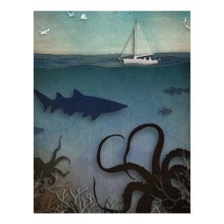 Under the Sea Letterhead