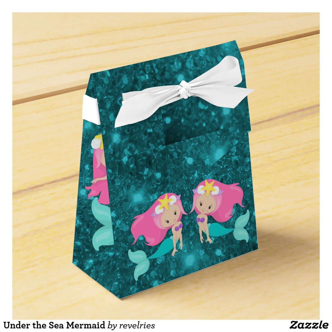 Under the Sea Mermaid Favor Box