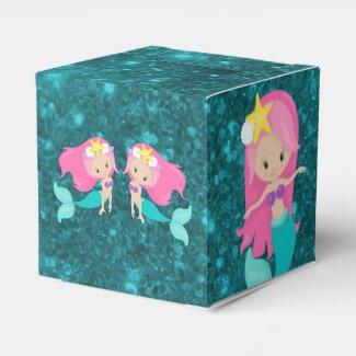 Under the Sea Mermaid Favor Box