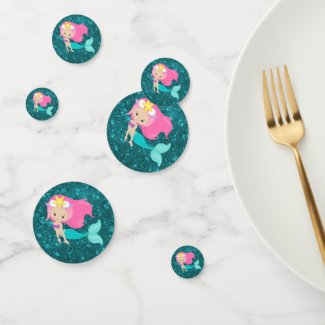 Under the Sea Mermaid Party Confetti