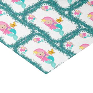 Under the Sea Mermaid Tissue Paper