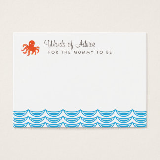 Under the Sea Mommy Advice Cards