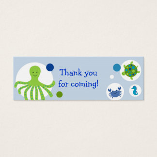 Under the Sea Nautical Party Favor Gift Tags