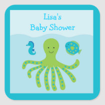 Under the Sea Nautical Stickers Labels