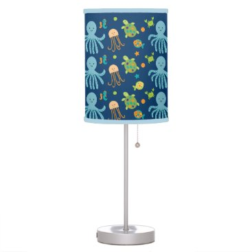 Toddler & Baby themed Under the Sea Nursery Lamp