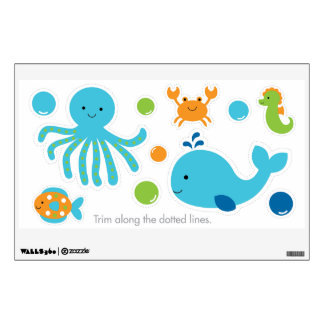 Under the Sea Nursery Wall Decals