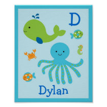 Under the Sea Nursery Wall Print