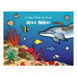 Under the Sea- Ocean Life Note Card Custom Invite
