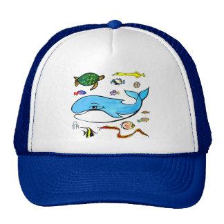 Under the Sea- Ocean Life Trucker Hat