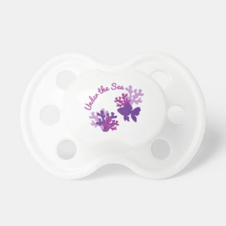 Under The Sea Baby Pacifiers