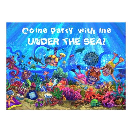 Swim Party Invitation for best invitation example