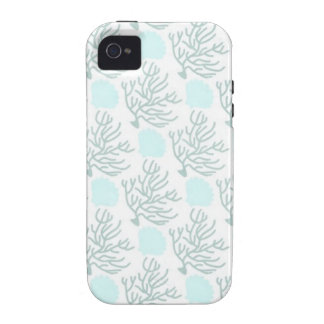 Under The Sea Pattern iPhone 4 Case