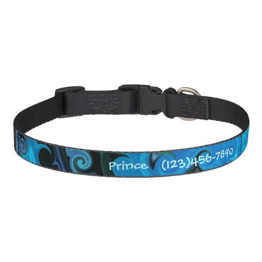 Under the Sea Personalized Dog Collar Dog Collars