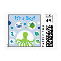Under the Sea Personalized Postage Stamps