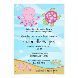 under the sea invitations announcements zazzle