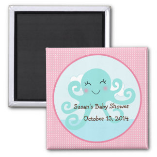 Under the Sea/Pink Octopus Magnet/Party Favor