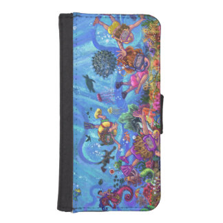 Under the Sea iPhone 5 Wallet Cases