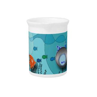 Under the Sea Beverage Pitchers