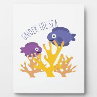 Under The Sea Plaque