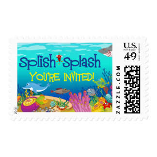Under the Sea Postage Stamp