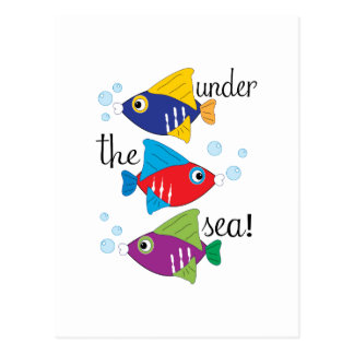 Under The Sea! Postcards