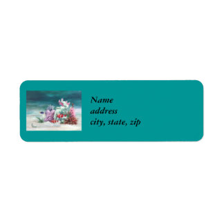 Under the Sea Return Address Labels