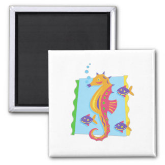 Under the Sea seahorse Refrigerator Magnets