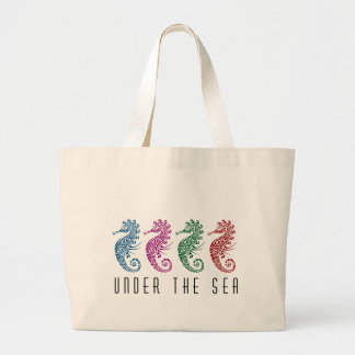 Under the Sea Seahorses Bags