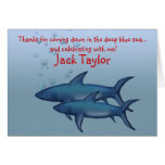 Under the Sea Shark Note cards