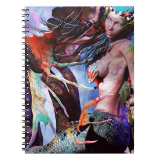 """""""Under The Sea"""" Spiral Notebook"""