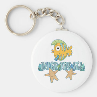 Under The Sea Star Fish Key Chains