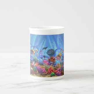 Under the Sea Tea Cup