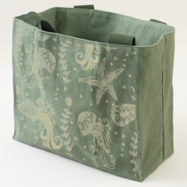 Beach Themed Under The Sea Tote Bag