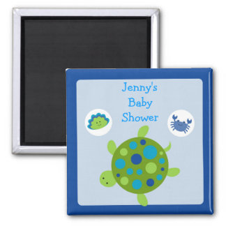 Under the Sea Turtle Party Favor Magnets