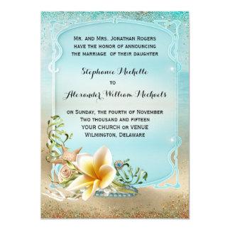 Under the Sea Wedding Announcement