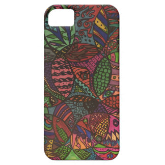 Under the sea zendoodle iPhone SE/5/5s case