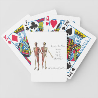 Under The Skin Bicycle Playing Cards
