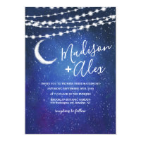 Under the Stars Wedding Invitation