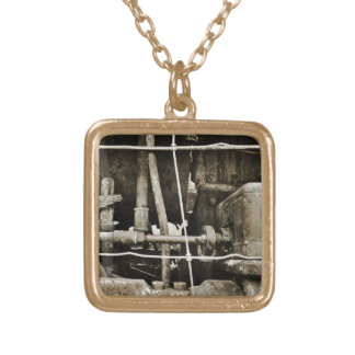 Under the Train Necklace