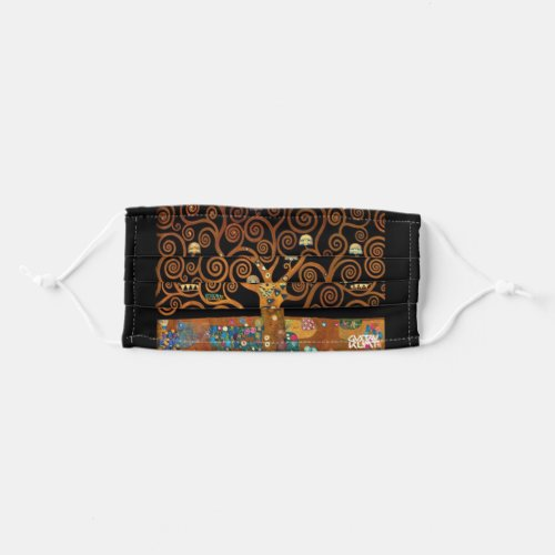 Under the Tree of Life Klimt Cloth Face Mask