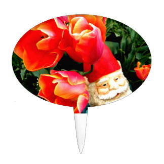 Under the Tulip Trees Cake Topper
