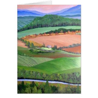 Under the Tuscan Sun Card