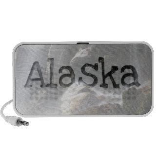 Under the Waterfall; Alaska Souvenir Mini Speaker