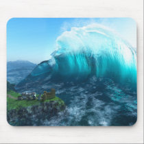 Under the Wave Mousepad