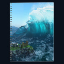 Under the Wave Notebook