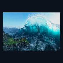 Under the Wave Print