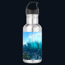 Under the Wave Water Bottle