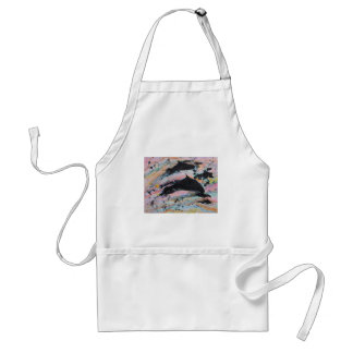 Under the waves adult apron