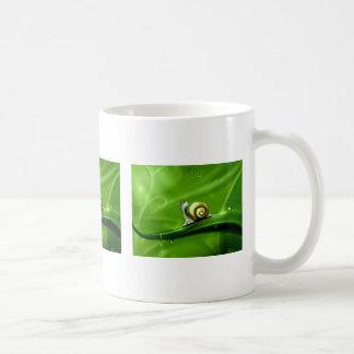 UNDER THE WEATHER (cute snail) ! Coffee Mug