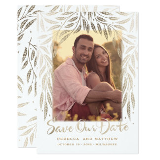 Under the Willows, Photo Save the Date Invitation